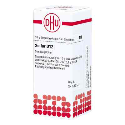 Sulfur D12 Globuli  bei Apotheke.de bestellen