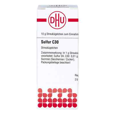 Sulfur C30 Globuli  bei Apotheke.de bestellen