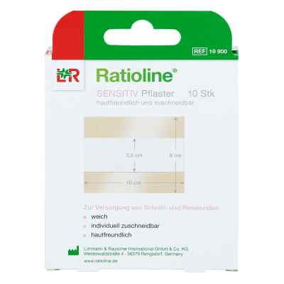 Ratioline sensitive Wundschnellverband 8 cmx1 m  bei Apotheke.de bestellen