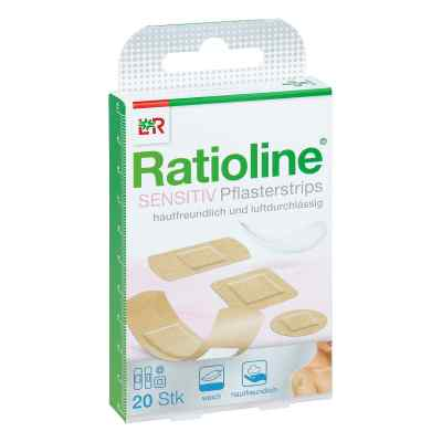 Ratioline sensitive Pflasterstrips in 4 Grössen  bei Apotheke.de bestellen