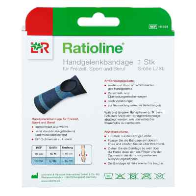 Ratioline active Handgelenkbandage Größe l/xl  bei Apotheke.de bestellen