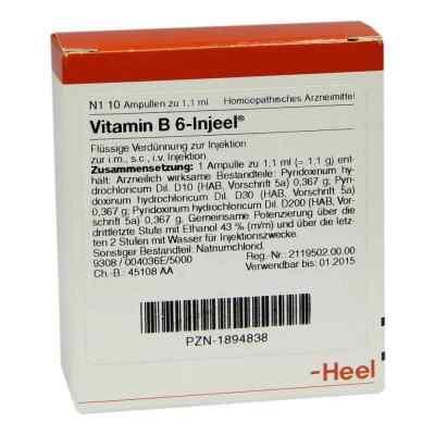 Vitamin B6 Injeel Ampullen  bei Apotheke.de bestellen