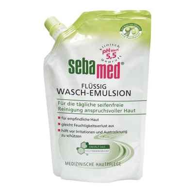 Sebamed flüssig Waschemulsion mit Olive Nachfüllpackung p.  bei Apotheke.de bestellen