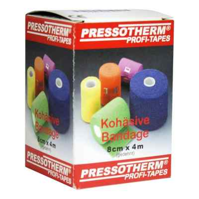 Pressotherm Kohäsive Bandage 8cmx4m grün  bei Apotheke.de bestellen