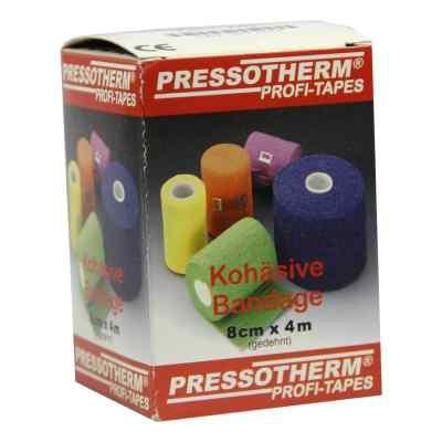 Pressotherm Kohäsive Bandage 8cmx4m rot  bei Apotheke.de bestellen