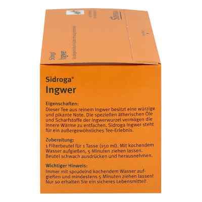 Sidroga Ingwer Tee Filterbeutel  bei Apotheke.de bestellen