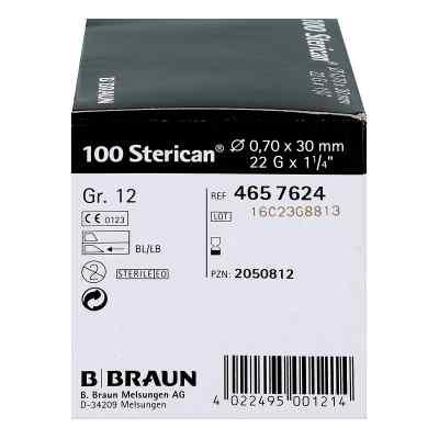 Sterican Kanüle luer-lok 0,70x30mm Größe 12  schwarz  bei Apotheke.de bestellen