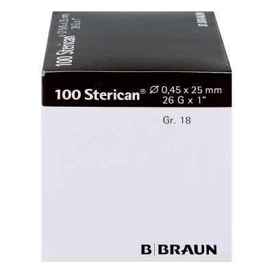 Sterican Kanüle luer-lok 0,45x25mm Größe 1 8 braun  bei Apotheke.de bestellen