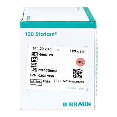 Sterican Kanülen 18gx1 1/2 1,2x40 mm  bei Apotheke.de bestellen