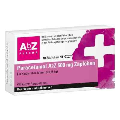 Paracetamol AbZ 500mg  bei Apotheke.de bestellen