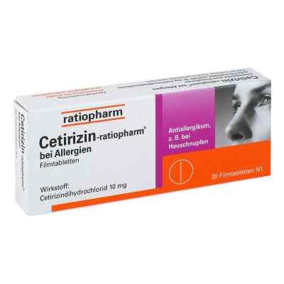 Cetirizin-ratiopharm bei Allergien  bei Apotheke.de bestellen