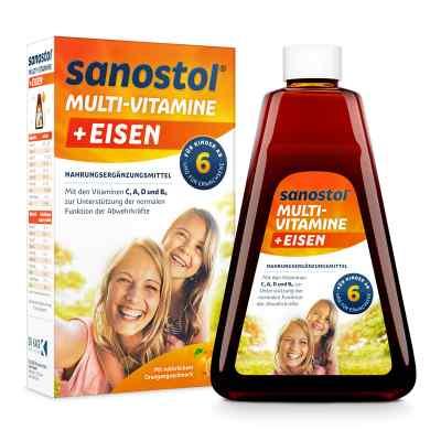 Sanostol plus Eisen Saft  bei Apotheke.de bestellen
