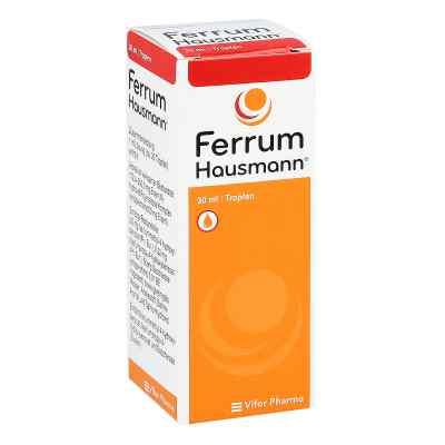 Ferrum Hausmann 50mg Eisen/ml Lösung  bei Apotheke.de bestellen