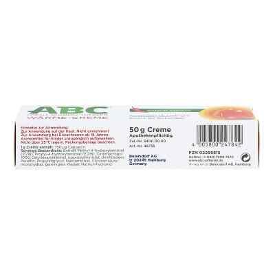 ABC Wärme-Creme Capsicum 0,75mg/g Hansaplast med  bei Apotheke.de bestellen