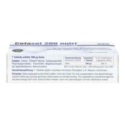 Cefasel 200 nutri Selen Tabs Tabletten  bei Apotheke.de bestellen