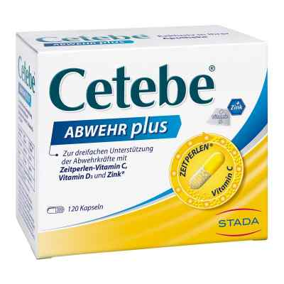 Cetebe Abwehr plus Vitamin C+vitamin D3+zink Kapsel (n)   bei Apotheke.de bestellen
