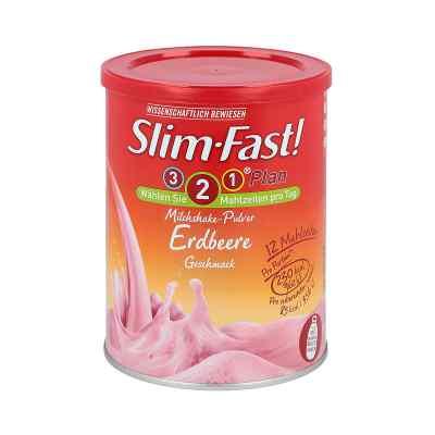 Slim Fast Drink Pulver Erdbeere