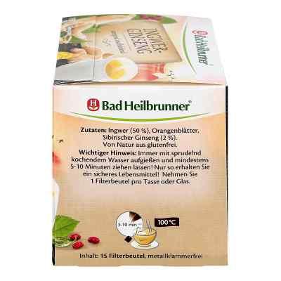 Bad Heilbrunner Tee Ingwer Ginseng Filterbeutel  bei Apotheke.de bestellen
