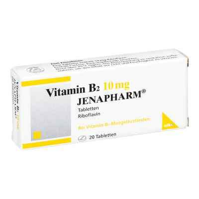 Vitamin B2 10 mg Jenapharm Tabletten  bei Apotheke.de bestellen