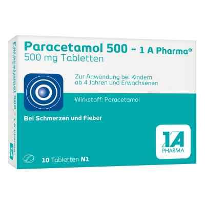 Paracetamol 500-1A Pharma  bei Apotheke.de bestellen