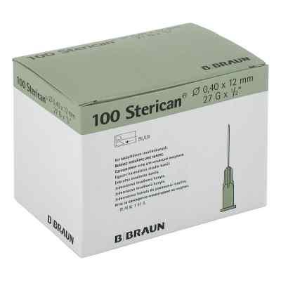 Sterican Ins.einm.kan.27gx1/2 0,40x12 mm  bei Apotheke.de bestellen