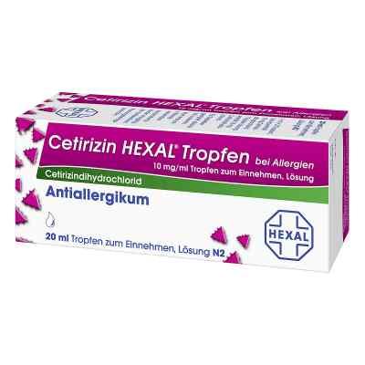 Cetirizin HEXAL bei Allergien 10mg/ml  bei Apotheke.de bestellen