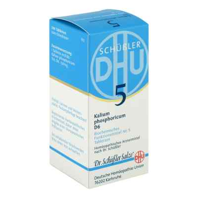 Biochemie Dhu 5 Kalium phosphorus D  6 Tabletten