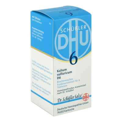 Biochemie Dhu 6 Kalium Sulfur D6 Tabletten  bei Apotheke.de bestellen