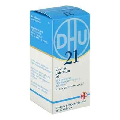 Biochemie Dhu 21 Zincum chloratum D6 Tabletten  bei Apotheke.de bestellen