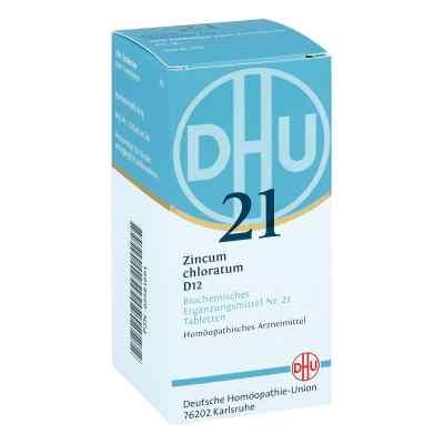 Biochemie Dhu 21 Zincum chloratum D12 Tabletten  bei Apotheke.de bestellen
