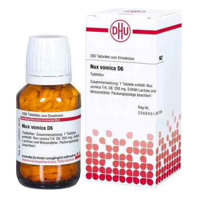 Nux Vomica D6 Tabletten  bei Apotheke.de bestellen