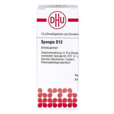 Spongia D 12 Globuli  bei Apotheke.de bestellen