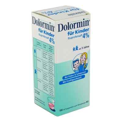 Dolormin für Kinder Ibuprofensaft 4%