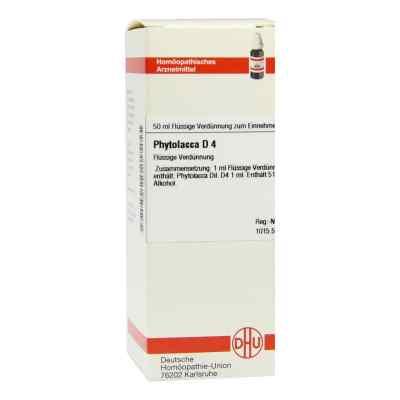 Phytolacca D4 Dilution  bei Apotheke.de bestellen