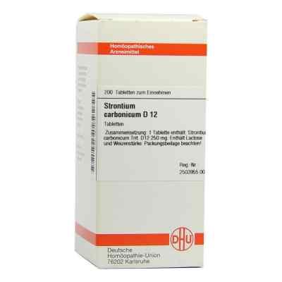 Strontium Carbonicum D12 Tabletten  bei Apotheke.de bestellen