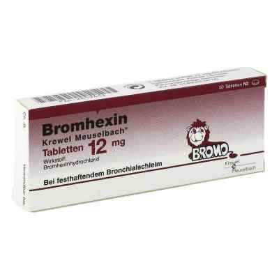 Bromhexin Krewel Meuselbach 12mg  bei Apotheke.de bestellen