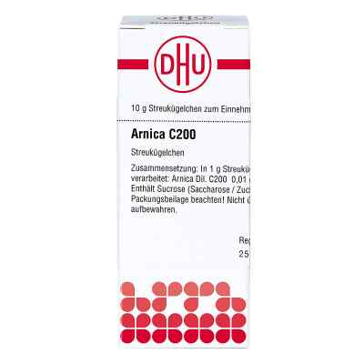 Arnica C 200 Globuli  bei Apotheke.de bestellen