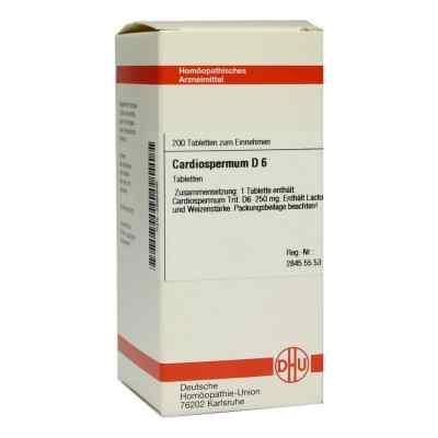Cardiospermum D6 Tabletten  bei Apotheke.de bestellen