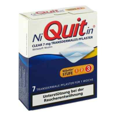 NiQuitin Clear 7mg/24 Stunden  bei Apotheke.de bestellen