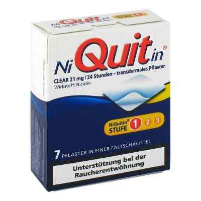 Niquitin Clear 21 mg transdermale Pflaster  bei Apotheke.de bestellen