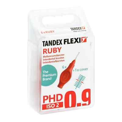 Tandex Flexi Interdental Bürsten rot 0,5mm  bei Apotheke.de bestellen