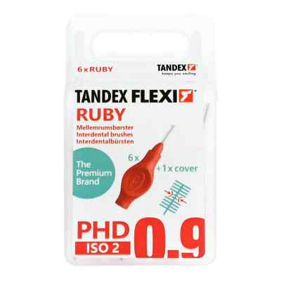 Tandex Flexi Interdental Bürsten rot 0,5 mm, PHD 0,9  bei Apotheke.de bestellen