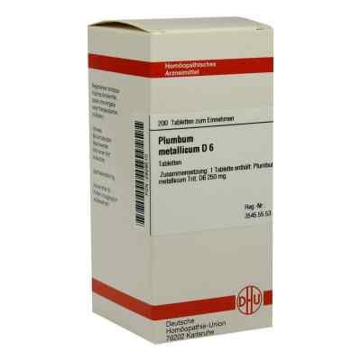Plumbum Met. D6 Tabletten  bei Apotheke.de bestellen