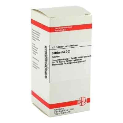 Sabdariffa D2 Tabletten  bei Apotheke.de bestellen