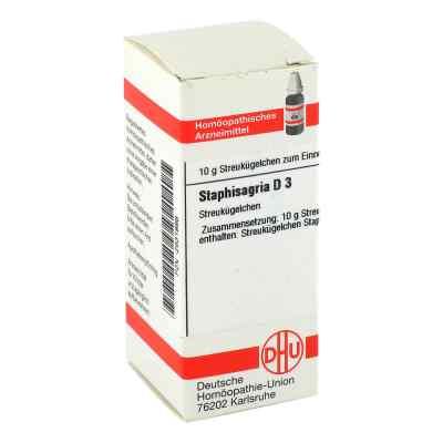 Staphisagria D3 Globuli  bei Apotheke.de bestellen