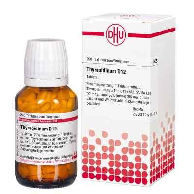 Thyreoidinum D12 Tabletten  bei Apotheke.de bestellen