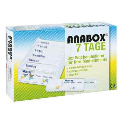 Anabox 7 Tage Wochendosierer weiss  bei Apotheke.de bestellen