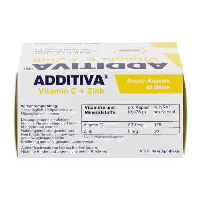 Additiva Vitamin C Depot 300 mg Kapseln  bei Apotheke.de bestellen