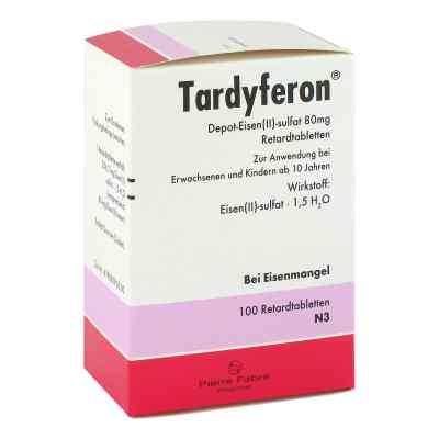 Tardyferon Depot-Eisen(II)-sulfat 80mg  bei Apotheke.de bestellen