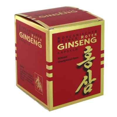Koreanischer Reiner Roter Ginseng Hartkapseln 300mg